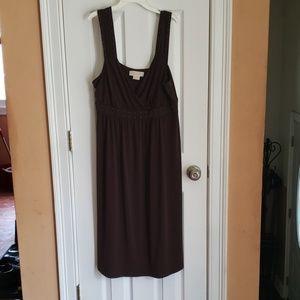 Michael by Michael Kors brown tank dress